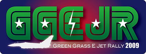 グリーングラスEジェットラリー2009ロゴ